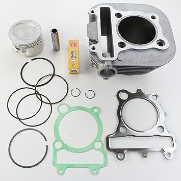 Cylinder Piston Gasket Top End Rebuild Kit For Yamaha Timberwolf 250 1992-2000