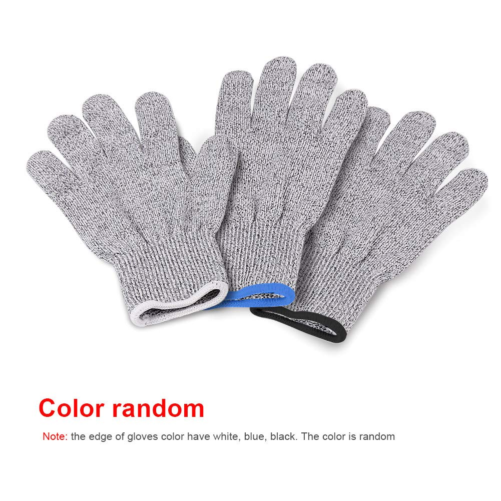 AMOFINY Fashion Baby Toys Cut Resistant Gloves - High Performance Level 5 Protection, Food Grade