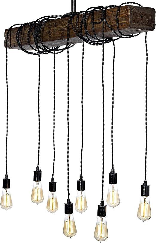Lámpara de estilo respetuoso con el medio ambiente, con viga de ...
