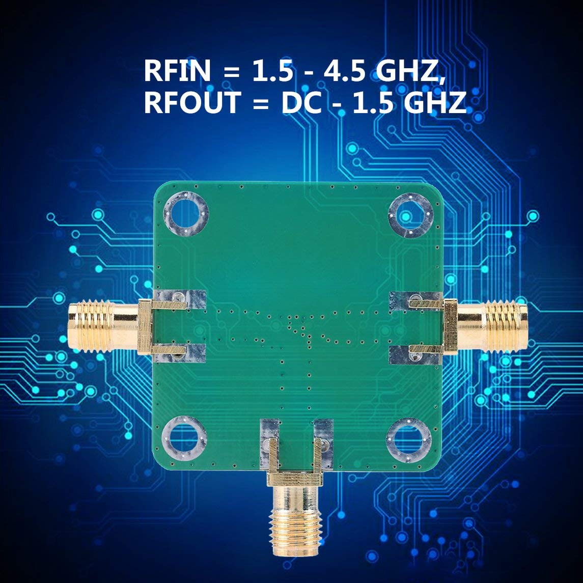 YXTFN Microwave Radio Frequency Rf Mixer Rfin=1.5-4.5Ghz Rfout=Dc-1.5Ghz Lo=312 Mf by Magicalworld (Image #4)