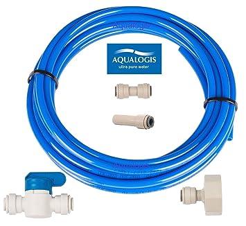 aqualogis Filtro de agua Set de conexión (Kit-7) para Whirlpool ...