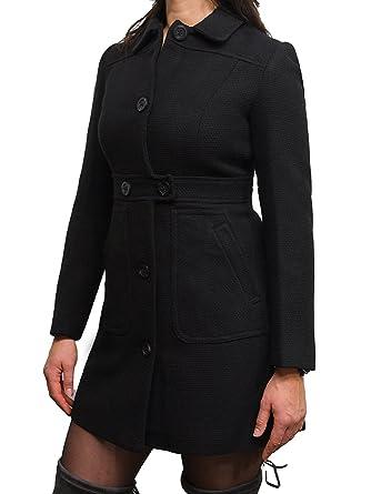 Brandslock Womens Genuine Leather Warm Winter Coat Designer Slim Fit ... f227f05f1