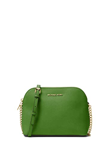 e477409807d3 MICHAEL MICHAEL KORS Cindy Large Saffiano Leather Crossbody: Handbags:  Amazon.com