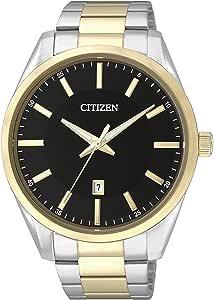 Citizen Women's Black Dial Mixed Band Watch - BI1034-52E