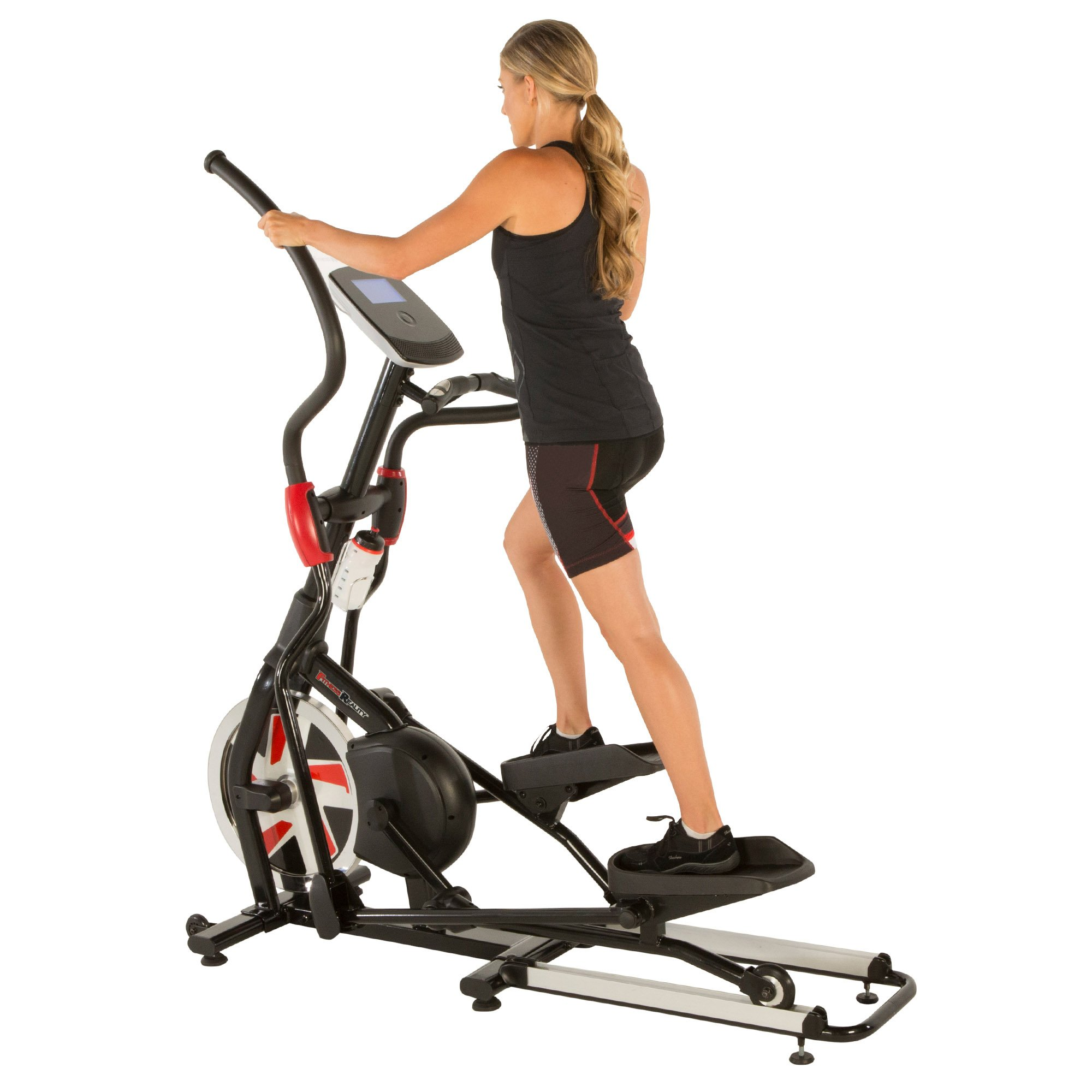 Fitness Reality X-Class 710 Bluetooth Smart Technology Elliptical Trainer with Flywheel Turbo Drive by Fitness Reality