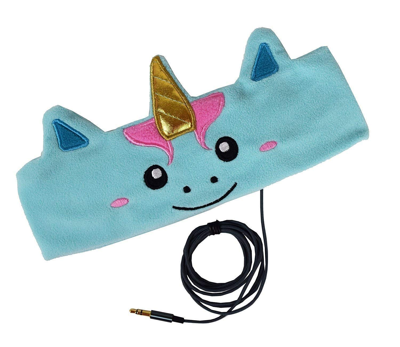 CozyPhones Kids Headphones Volume Limited with Ultra-Thin Speakers Soft Fleece Headband