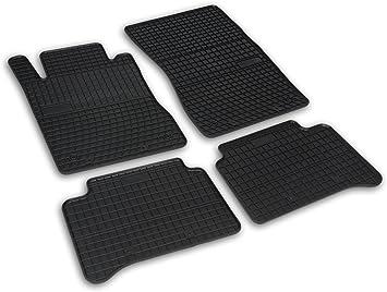 Frogum 0780 Gummimatten Auto Fußmatten Gummi Passgenau 4 Teiliges Automatten Set Schwarz Auto