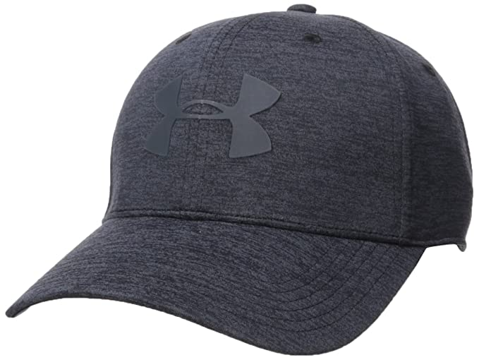 buy popular 9d3fc 8dbff Under Armour Men s Armour Twist 2.0 Cap, Black (001) Stealth Gray,