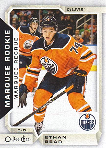 2018-19 O-Pee-Chee Hockey  540 Ethan Bear RC Edmonton Oilers at ... 7e91f265c