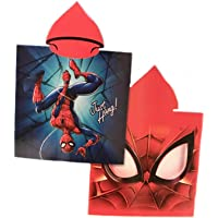 Toalla Spiderman Poncho Microfibra Marvel 50x100cm