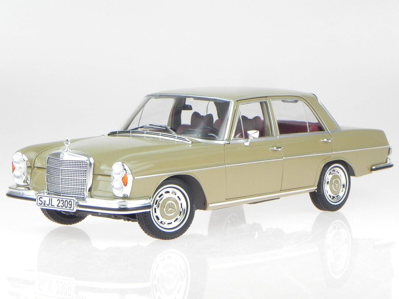 Mercedes W108 S Klasse 280 Se Beige Modellauto Norev 118 Amazonco Engine Parts Diagram Toys Games