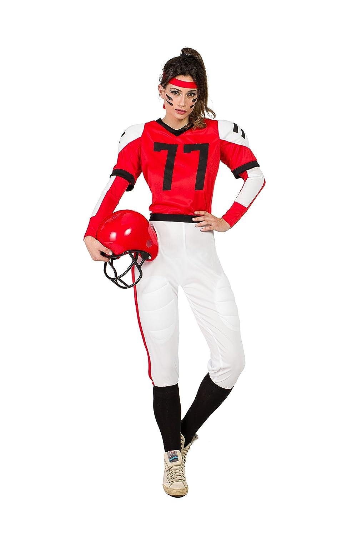 Disfraz Jugadora Rugby M-L: Amazon.es: Juguetes y juegos