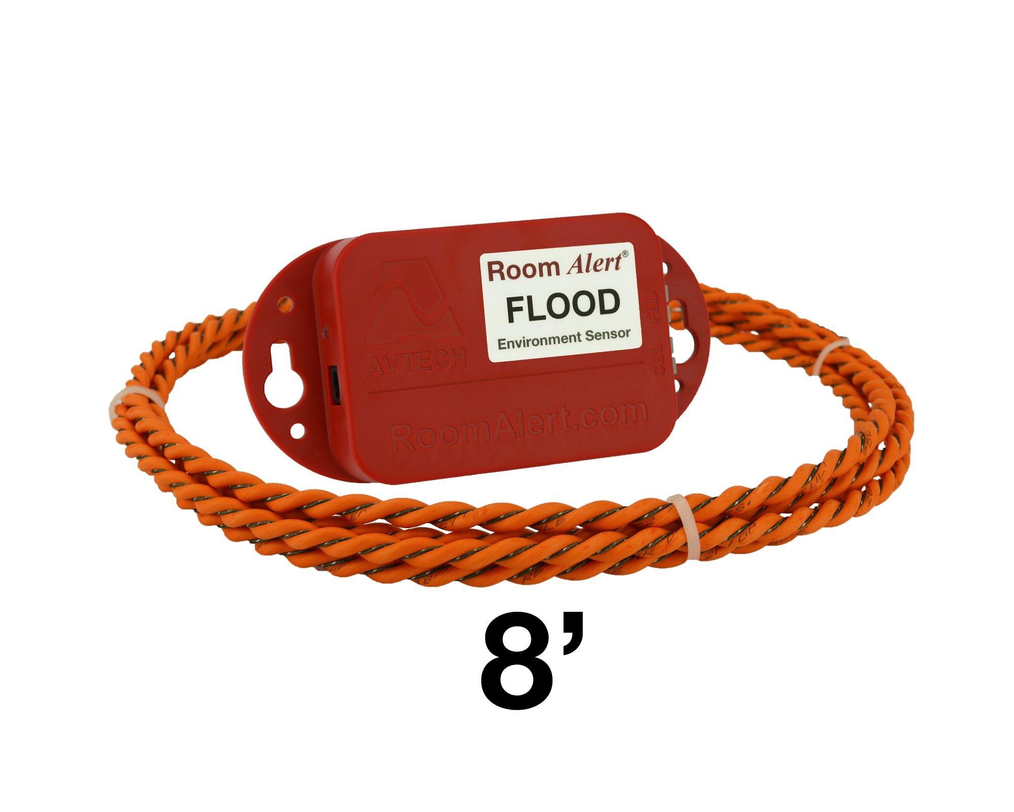 Flood Sensor w/ 8' Flood Cable