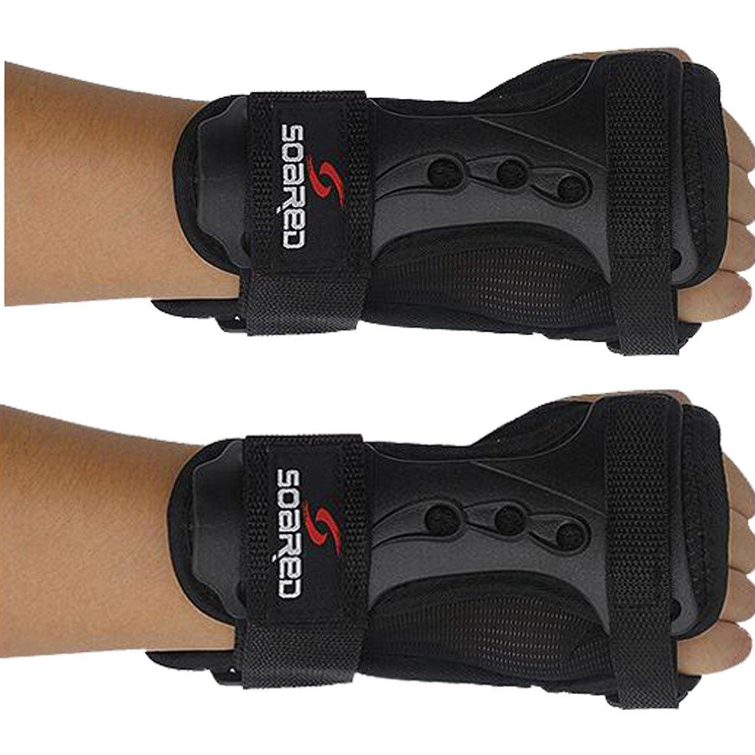 Glield Unisex Ski Snowboard Protektoren Handschuh Handgelenk Unterstützung-1 Paar HXHS01