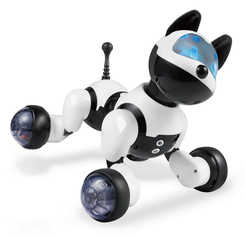 Hi-Tech Wireless Remote Control Robot Dog Smart Interactive Puppy Senses Gesture, Sings, Dances for Boys, Girls, Kids and Children by HI-TECH OPTOELETRONICS CO., LTD. (Image #2)