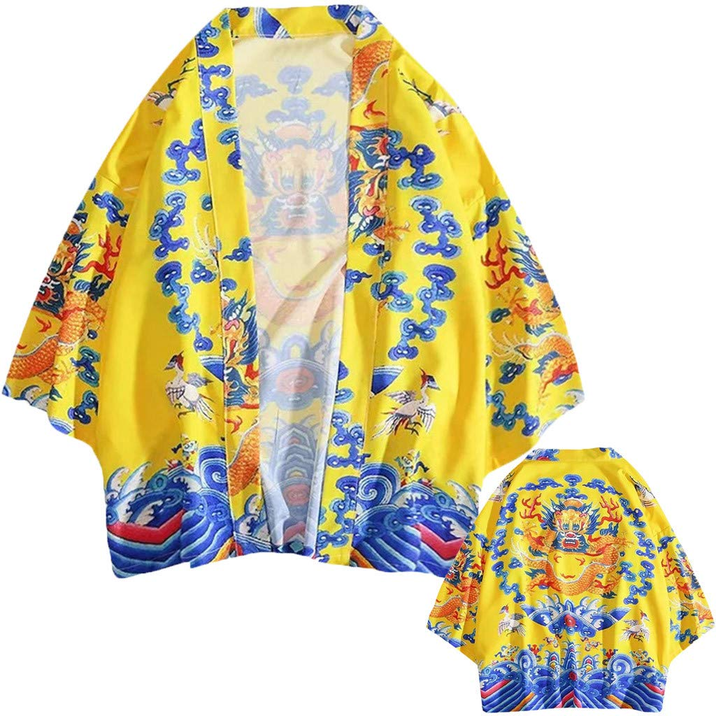 Camicia Uomo Fashion Lovers Individuality Print Top Camicetta Kimono Hot Spring Clothing Felpe