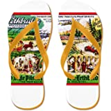 CafePress - Canada Beer Label 15 - Flip Flops, Funny Thong Sandals, Beach Sandals