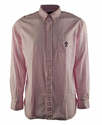 7fbaa54f30a850 Polo Ralph Lauren Men's Striped Oxford Long Sleeve Mercer Shirt at Amazon  Men's Clothing store: