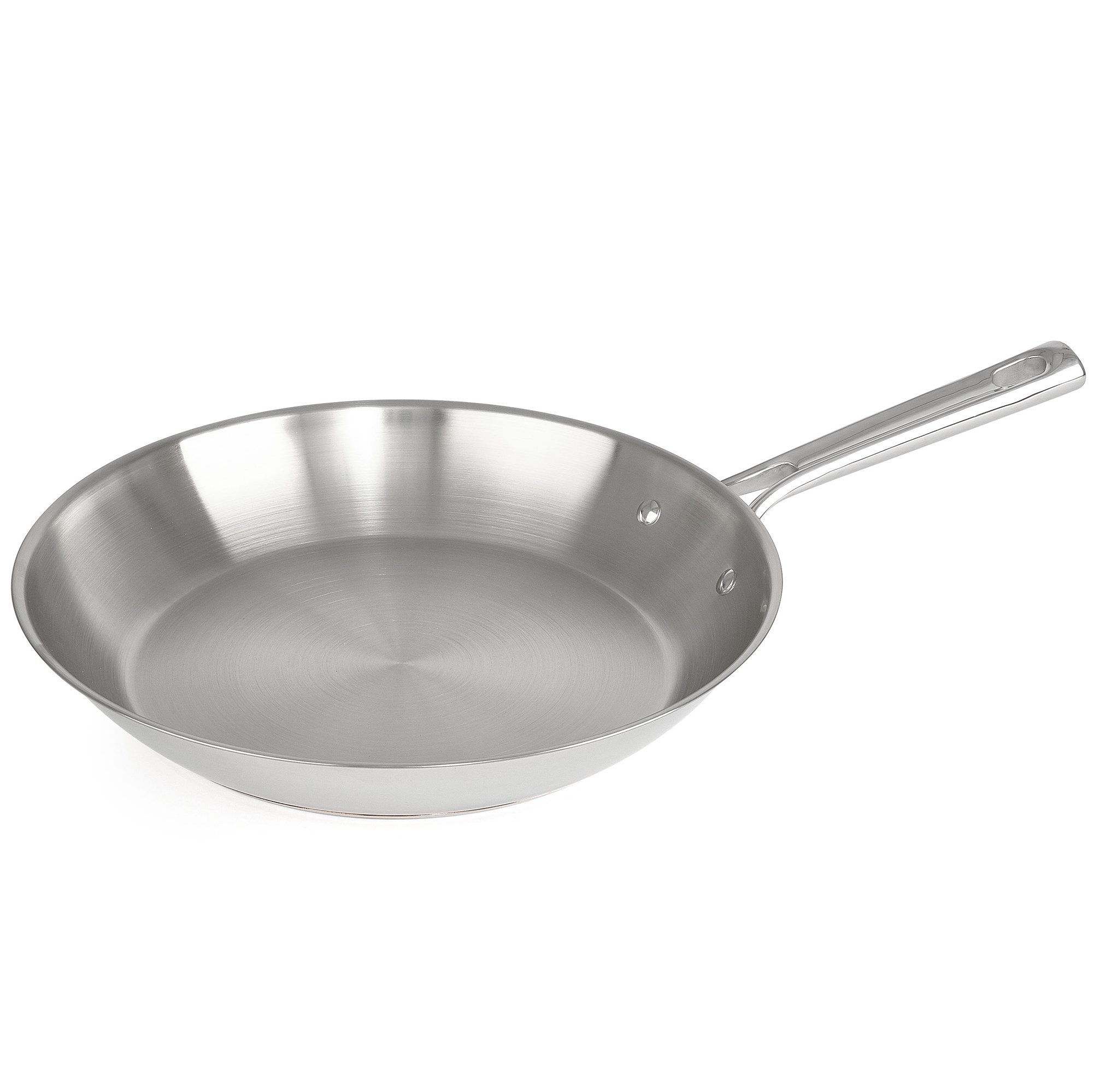 Emeril Lagasse Stainless Steel Copper Core Fry Pan, 12'', Silver