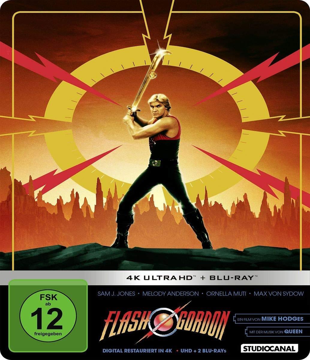 Flash Gordon - Limited Steelbook Edition 4K Ultra HD + Blu ...