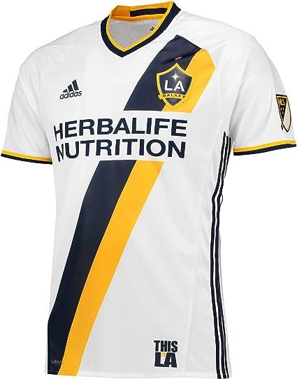 Delgado garaje restaurante  Amazon.com : adidas LA Galaxy Authentic Primary Jersey : Clothing