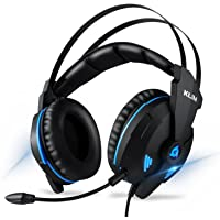 ⭐️KLIM IMPACT V2 - Casque gamer USB - Son 7.1 Surround + Isolation - Audio Haute Qualité + Fortes Basses - Micro Casque Gaming Jeux Vidéo pour PC PS4 - Version 2