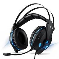 KLIM Impact - Casque Gamer USB - Son 7.1 Surround + Isolation - Audio Haute Qualité + Fortes Basses - Micro Casque Gaming Jeux Vidéo pour PC PS4 [ Nouvelle 2018 Version ]