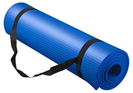 Bojing Yoga Mat, Thick NBR, Multipurpose, Multicolor Optional, with Carrying Bag and Strap