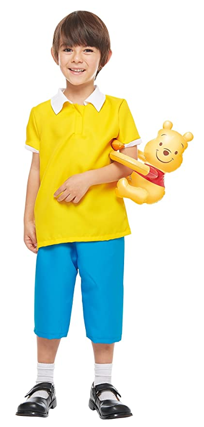 68d7b4376c45 Amazon.com  Rubie s Costume Disney s Winnie The Pooh Series - Christopher  Robin Costume - Boy s S Size  Toys   Games
