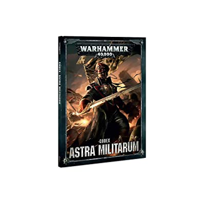 Games Workshop Warhammer 40k Astra Militarum Codex 2020 Hardcover: Toys & Games