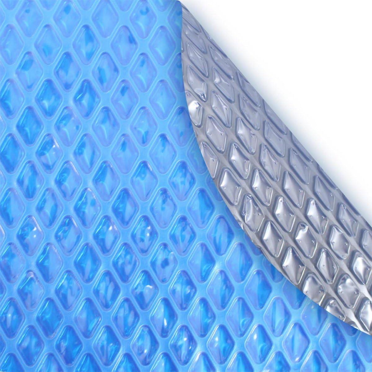 1200 Series Sun2Solar 12/' x 24/' Oval Blue Swimming Pool Solar Blanket Cover