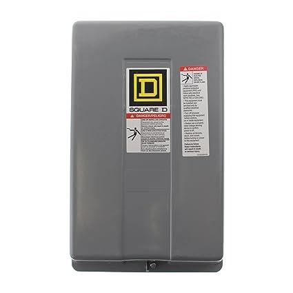 Square D 8903LXG60V04 Lighting Contactor, 277V Coil, NEMA 1, 30A
