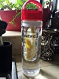 Heatwell Fruit Infuser Bottle for Flavored Infused