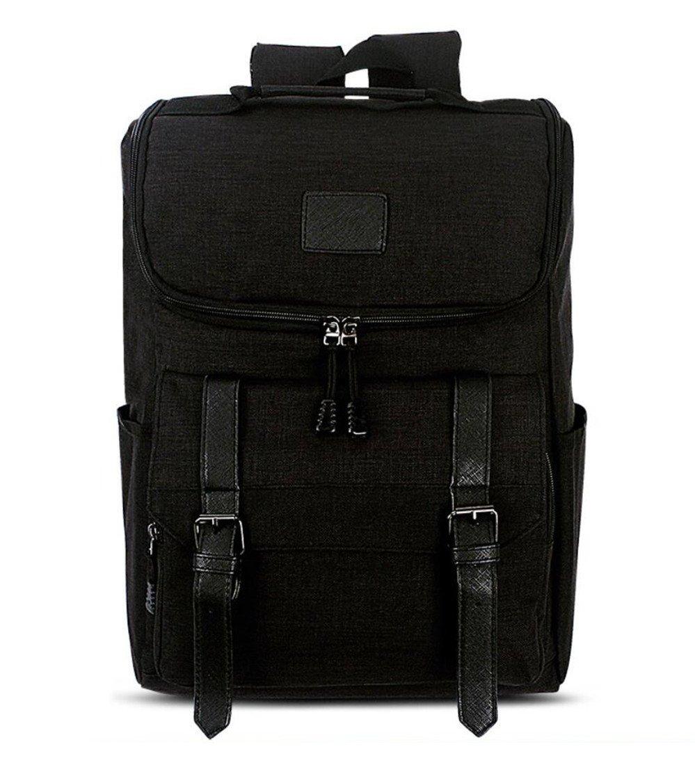 Black Laptop Outdoor Backpack Travel Hiking Rucksack Camping Knapsack Shoulder Schoolbag blueee