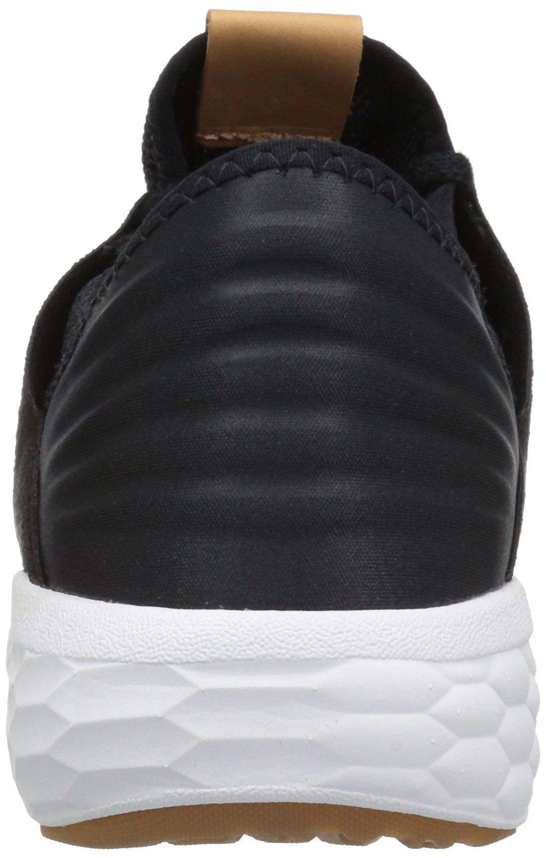 New Balance Women's Fresh Foam Cruz V2 Sneaker, Black/White, 12 D US