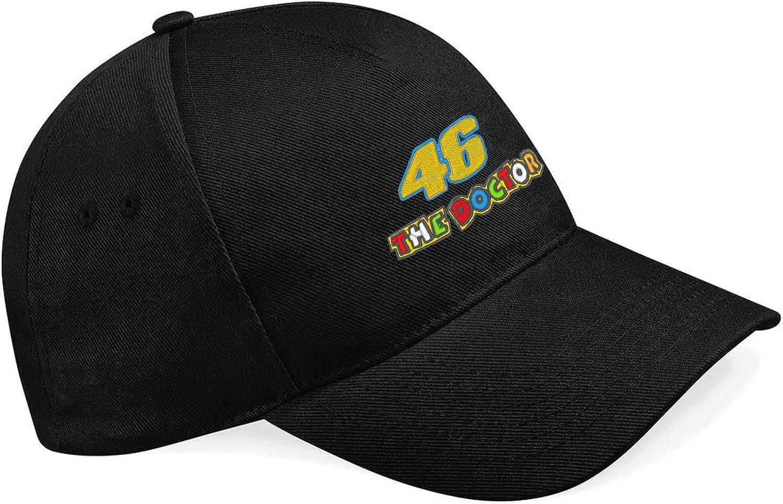 46 The Doctor Valentino Rossi Pilot Motorrad Gorras de béisbol ...