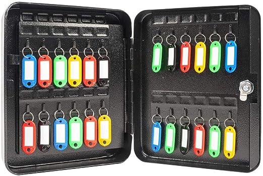 Xnonix 48 Caja de Seguridad de Metal con Gancho para
