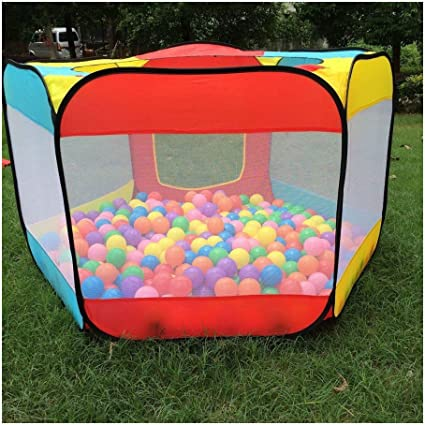 30 Crush Proof Red Soft Play Ball Pit// Pool Indoor//outdoor Garden Party Kids