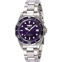 Invicta 9204 Colección Pro Diver Reloj plateado