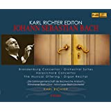 カール・リヒター・エディション / J.S.バッハ : 器楽曲篇 (Karl Richter Edition ~ Johann Sebastian Bach : Brandenburg Concertos, etc. / Karl Richter) (6CD Box) [輸入盤]