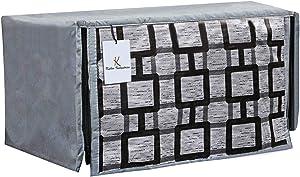 METREY PVC 1 Piece Microwave Oven Cover 20 LTR (Grey) -CTKTC5709