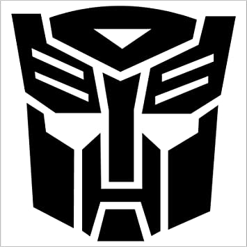 "WINDOW TRUCK VINYL DECAL STICKER CAR /"" Transformers Autobot /"" 1- PAIR"