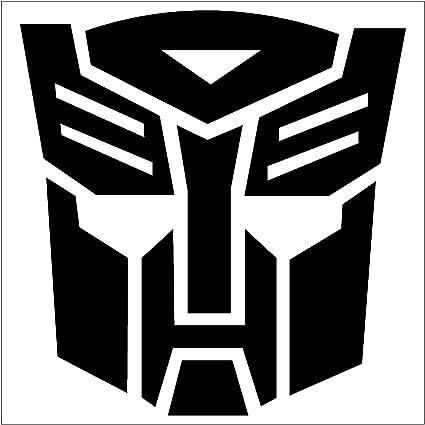 Transformers autobot car truck notebook vinyl decal sticker 1036 vinyl