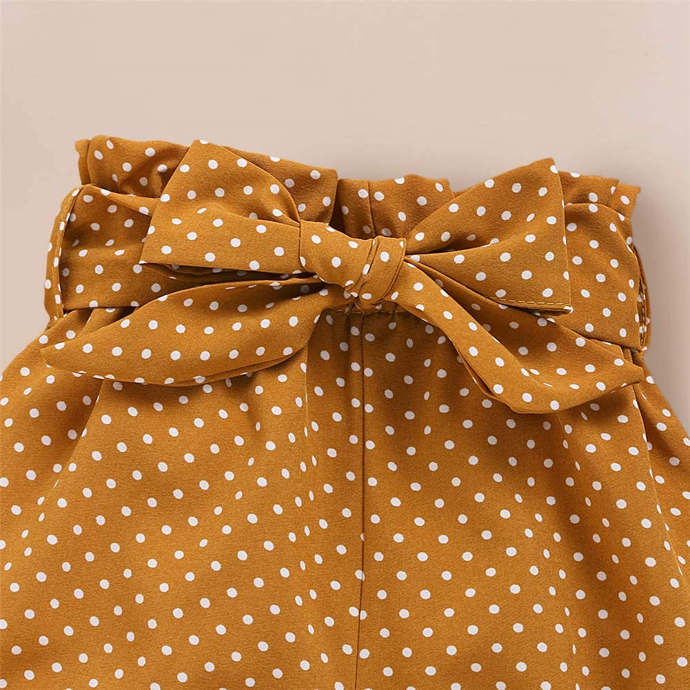 Geagodelia 3tlg Babykleidung Set Baby M/ädchen Kurzarm Strampler Body Kurz Hose Shorts Sommer Kleidung 0-18 Monate Neugeborene Outfits Set Stirnband