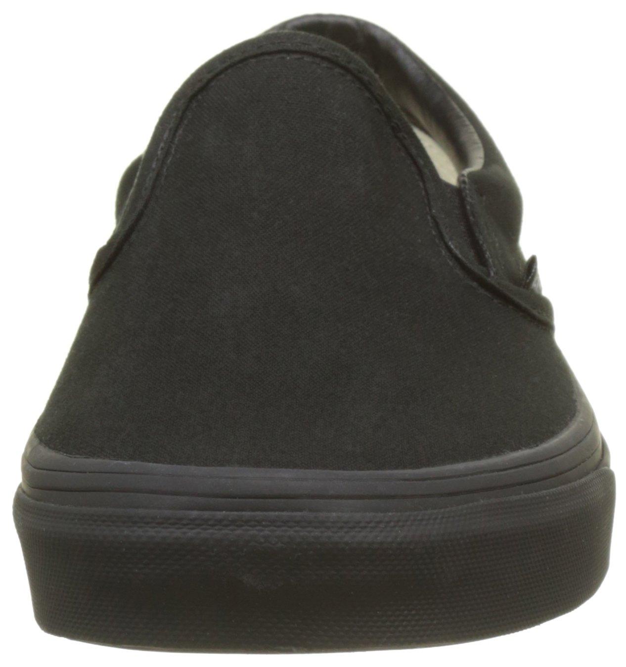 Vans Unisex-Erwachsene Classic Slip-On (schwarz/schwarz Niedrig-Top, Weiß, D(M) Schwarz (schwarz/schwarz Slip-On Bka) 3a3dd0