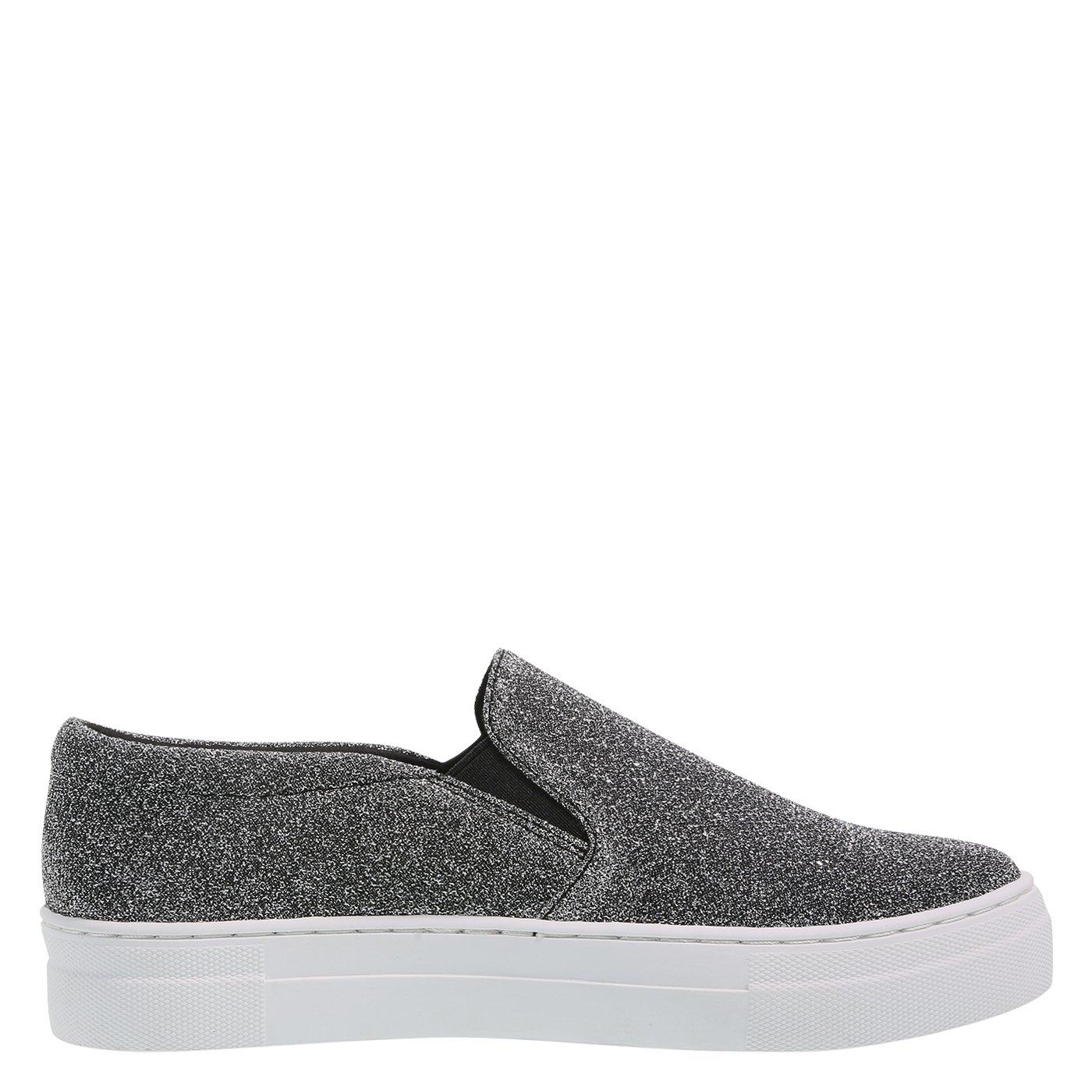 Brash Women's Evonne Slip-On Sneaker B07CHS9T1J 6 B(M) US|Silver Lurex