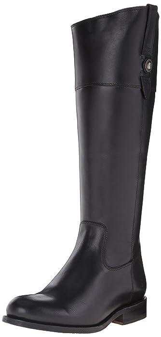 FRYE Womens Jayden Button TallSMVLE Riding Boot       Black