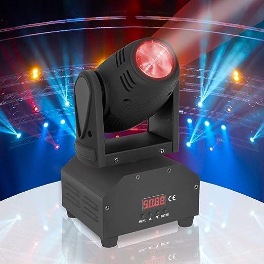 Luz giratoria de DJ Party Stage - Cabeza móvil Discoteca ...