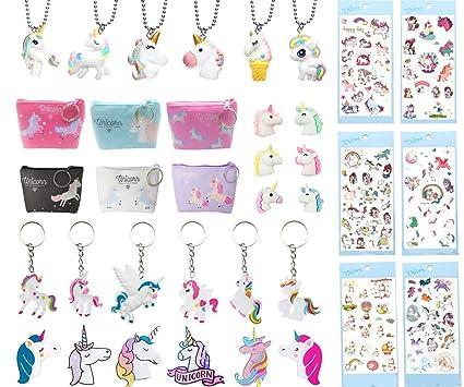 Amazon.com: Paquete de 36 unicornios suministros de fiesta ...