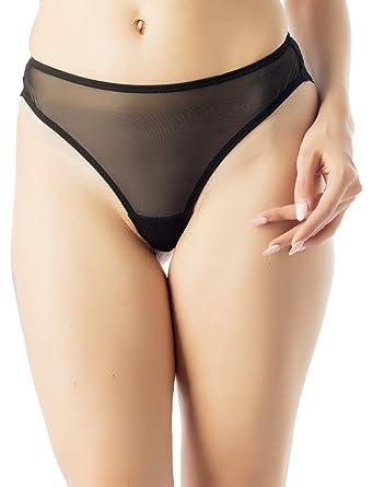 Sheer see through panties simply
